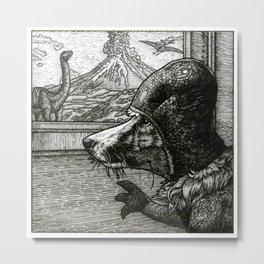 Dinosaur Daydreams Metal Print