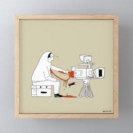 Filmmakers Valentine Framed Mini Art Print