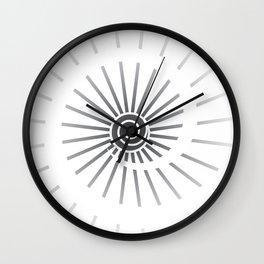Sunshine V Wall Clock