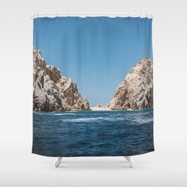 Lovers Beach II Shower Curtain