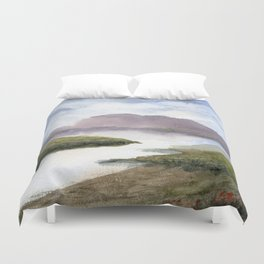 Water and Colour Duvet Cover