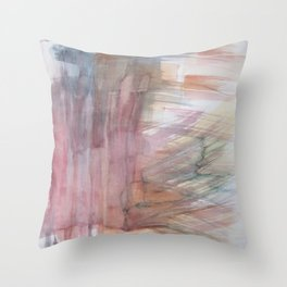 color formation Throw Pillow