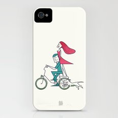 Faster than the wind iPhone (4, 4s) Slim Case