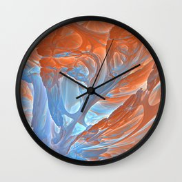 Cockles of My Heart Wall Clock
