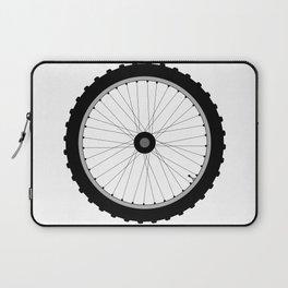 Bicycle Wheel Laptop Sleeve