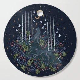 Midnight Exploration Cutting Board