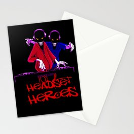 Headset Heroes Stationery Cards