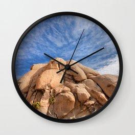 Joshua Tree Rocks Wall Clock