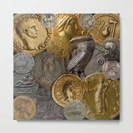Ancient Coins 1 Metal Print