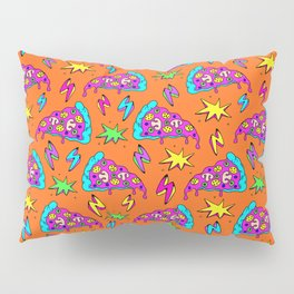Crazy space alien pizza attack! #2 Pillow Sham