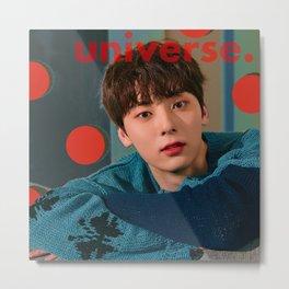 Artwork K-Pop Wanna One NU'EST Minhyun  Metal Print
