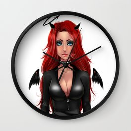 THE BAD LADY Wall Clock