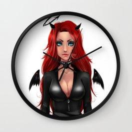 THE BAD LADY Wall Clock