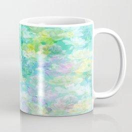 Enchanted Spring Floral Abstract Coffee Mug