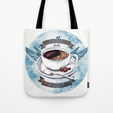 Coffee To The Rescue Tote Bag