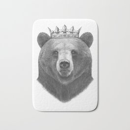 King bear Bath Mat