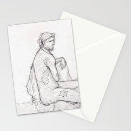 Figure Study (1) Stationery Cards