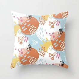 Gentle Mottle | Basic Throw Pillow