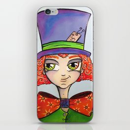 It's Tea Time with the Mad Hatter! iPhone Skin