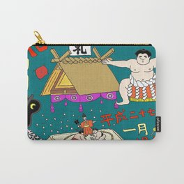 Sumo Print Carry-All Pouch