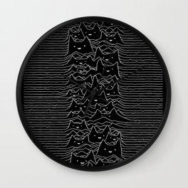 Joy Division Unknown Pleasures Wall Clock