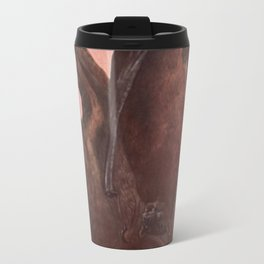 Vintage Bat Painting (1909) Travel Mug