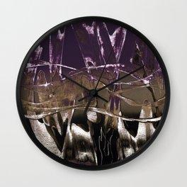 Purple Royale Wall Clock