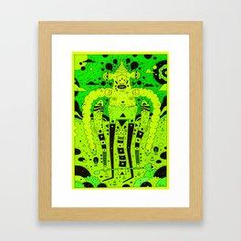 bubbler Framed Art Print