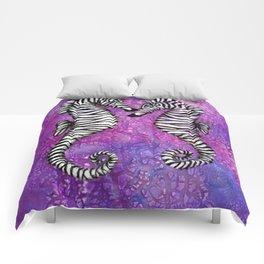 Zebra Seahorses Comforters