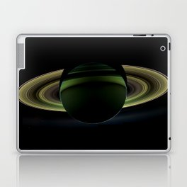 Glorious view of Saturn Laptop & iPad Skin