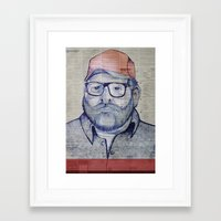austin Framed Art Prints featuring Austin by Vin Zzep