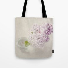 Textured Lilac  Tote Bag