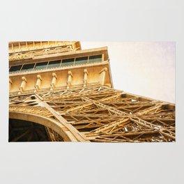 Effiel Tower Fine Art Photograph Rug