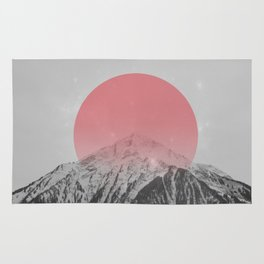 Dreaming of Pink Mountains Rug