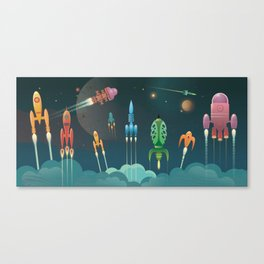 Grand Départ Canvas Print