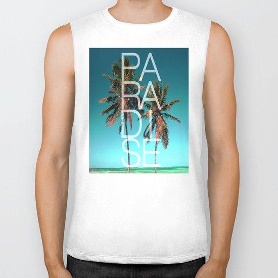 PARADISE Biker Tank