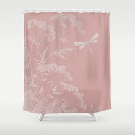 Small idyll pink Shower Curtain