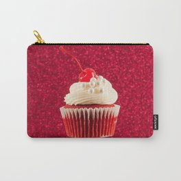 Cupcake Love | The Sparkliest Red Velvet Carry-All Pouch
