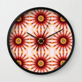 Dahlia Manipulation Grid Wall Clock