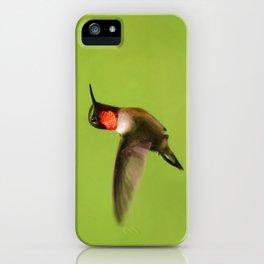 Hummingbird X iPhone Case