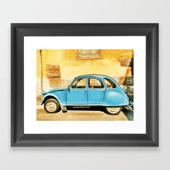 Vintage Citroen Framed Art Print