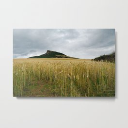Roseberry Topping Metal Print