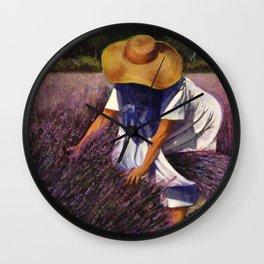 Paintings by Joyce Wall Clock