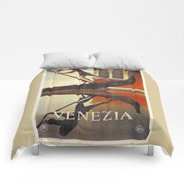 Venice history, gondola Comforters