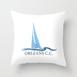 Orleans - Cape Cod. Throw Pillow