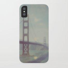 Golden Gate - Polaroid iPhone Case