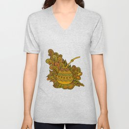 Yerba Mate In The Gourd Unisex V-Neck