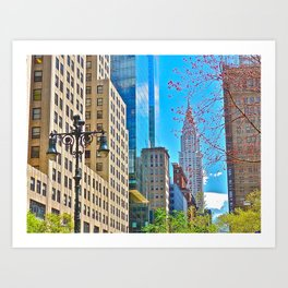 Chrysler Building, NYC (1) Art Print