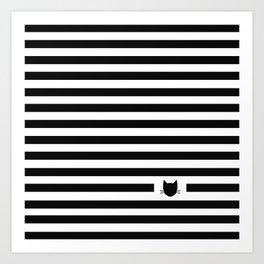 Classic Stripes 02 Art Print