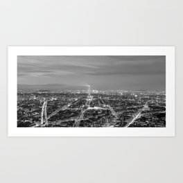 Paris - France Art Print